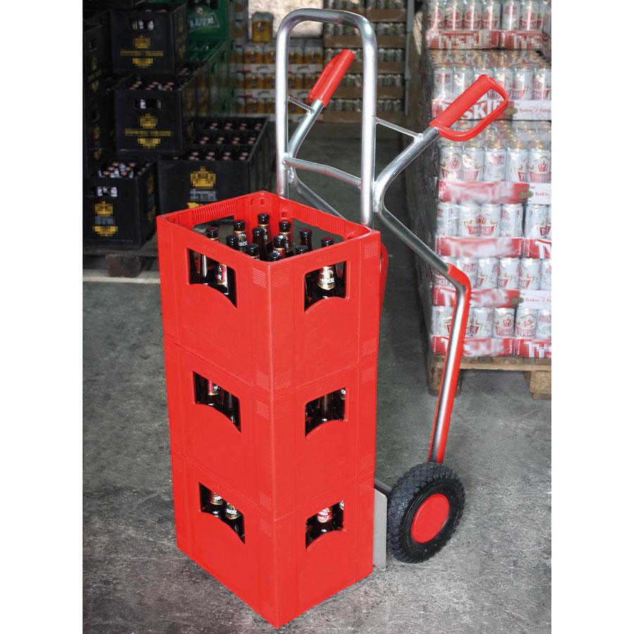 Letvægter ALU sækkevogn med lille skovl 200 kg | ErgoLift