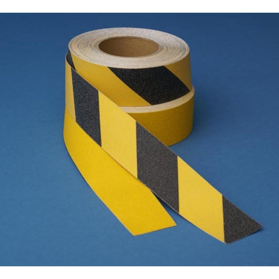 Tape skridsikker 50mm x 18 3m gul ergolift for Cuisine 3m x 3m
