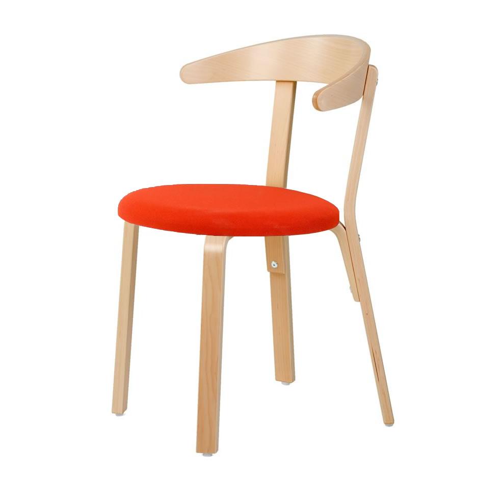stol bøg Stol Ellen polstret sæde limegrøn bøg   ErgoLift stol bøg
